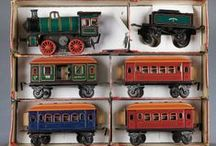 Trains, Planes, and Automobiles / Vintage and antique toy trains, planes, cars, trucks, and accessories.