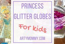 Princesses and Fairies / Princess crafts for my princesses