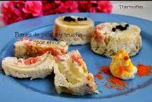 Pasteles, flanes salados en Thermofan