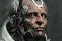Sci-fi Characters / Science Fiction Character Inspiration
