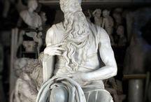 Cast of Michelangelo's Moses by FeliceCalchi / www.felicecalchi.com