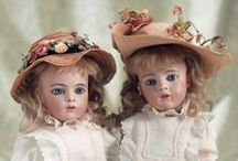 The Bebes and Poupees of Casimir Bru. / A glimpse into the elegance, art, fashion and history interpreted through the coveted dolls of artist, Leon Casimir Bru