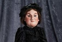 """""""Among Friends"""" - July 15, 2015, Theriault's Auction / Marquis Cataloged Auction presented by Theriault's on Wednesday, July 15, 2015. An extraordinary Private Collection of rare French Bebes, German Characters and American Folk Dolls."""
