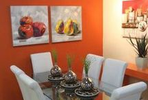 Art Ideas Curated by Artifexart / Interior Designs featuring outstanding art. Allow Artifexart.com to create a masterpiece for you.