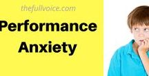 Performance Anxiety / Shy Singers