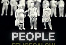 PEOPLE by FeliceCalchi /   Tiny People Collection - limited edition