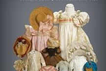 """What Finespun Threads"" - March 12, 2017 / March 12, 2017 at the Hyatt Regency Coconut Resort, Naples, FL. 9AM Preview. 11AM Auction. Several hundred wonderful antique doll costumes from 1840-1925, including fashion gowns, bébé dresses, character doll costumes, shoes and accessories are featured in this fabulous collection. Absentee bid, live telephone bidding and live internet bidding is welcome. For info call 800-638-0422. View online https://theriaults.proxibid.com"