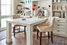Dream Interiors / Home office inspiration and cozy, beautiful or inspiring spaces