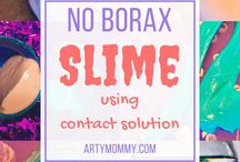 Play Dough, Slime, Sensory DIY / Spikes, putty, dough -- all things sensory and homemade for kids!!