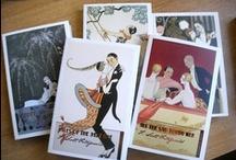 F. Scott Fitzgerald Series / Beautiful new titles by F. Scott Fitzgerald, with wonderful cover illustrations by art deco artist George Barbier