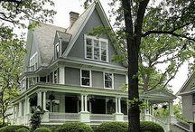 Beautiful houses!! / Love it