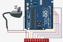 Arduino, Raspberry Pi, electronics