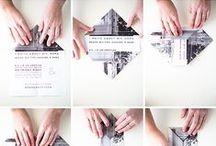 fold / pushing the envelope (!) of paper folding as design element