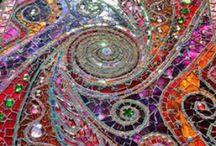 Mozaiek / Mozaiek in veel kleuren