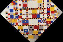 Mondriaan / Schilderijen van Piet Mondriaan