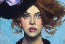Art / Paintings / Sculture / Inspiration painting #painting #paint #oleo #canvas