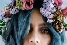 Wedding Flower Crown / #hair #style #wedding #boda #peinados #peinado #recogido #estilo #crown #flowers #flores #corona #diadema #flowerideas #floral #tocado