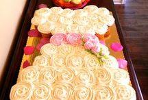 Bridal/Wedding Shower /  Bridal Shower food and décor ideas.