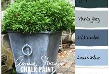 ANNIE SLOAN CHALK PAINTS and etc... / The colors of chalk paint and all things Annie!