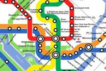 London tube en Metro / Metro plattegronden