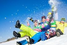 Wintersport. / wintersport en winterzon.