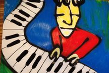 Herman Brood. / Herman Brood. Muziek en schilderijen.