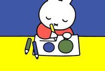 Nijntje / Nijntje of Miffy is 60 jaar geworden.