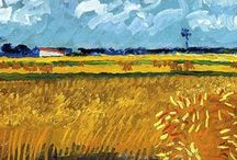 Vincent van Gogh. / Vincent van Gogh, schilderijen.