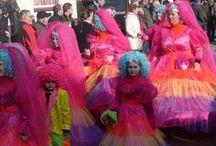 Carnaval. De optocht in Barger-Compascuum, Emmen 2015 en 2017 / Carnaval. De optocht in Barger-Compascuum, Emmen 2015 en 2017