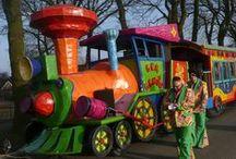 Carnaval. De optocht in Barger-Oosterveld Emmen. / Carnaval. De optocht in Barger-Oosterveld Emmen.