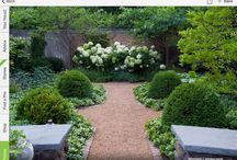 Garden / Ideas for garden and terrace