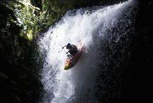 Kayak. / Kajak en kano.