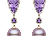 Luscious Pearls / Contemporary and alternative designs combining colorful gems and pearls.