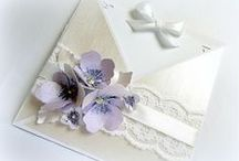 Wedding paper cards / made with love...