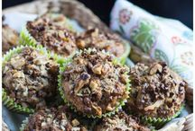 Muffins / Sweet & Savoury muffins for breakfast, lunch & afternoon tea.