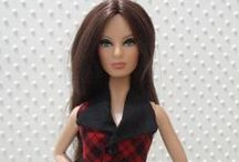 Meu trabalho/My Job / Imagens do meu trabalho, roupas para Barbie. Images of my work, clothes for Barbie doll.