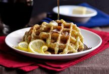 Waffles / Sweet Waffles, savoury waffles and waffles sandwiches. More ways to eat waffles than you thought possible.