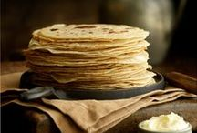Bread - Flatbreads & Stovetop / Pitta breads, Naans, Crumpets, English muffins, Socca, Tortillas, Flatbread and Wraps.  All breads that can be made quickly and cooked without an oven.