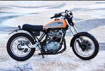 Nuvolari Cafe Racer Obsession / La Nuvolari es una customización realizada desde una Yamaha XT 600 al estilo Street Tracker. Transformación by CRO.