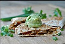 Quesadillas / Loads of quesadilla recipes for a quick lunch or dinner.