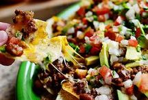 Nachos / So many different ways to each corn chips. Meat, vegetarian and even vegan.