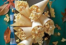 Popcorn / Why eat boring popcorn when there are so many ways to flavour a big bowl of popped corn.