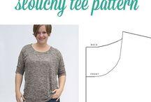 Sewing patterns / Patronen om te maken
