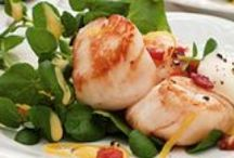 Seafood delights / Shellfish and fish entrees / by Bonnie Alsop