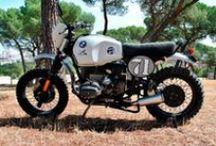Übercool Cafe Racer Obsession / Conversión de una BMW GS 1000 a una moto de campo setentera con aire streetero. Handmade by CRO Motorcycles.