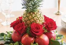 FLORAL ARRANGEMENTS, TABLE ART & WREATHS / Beautiful Table Pieces / by Val Simich