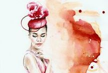 MY ILLUSTRATIONS. / Fashion illustrations by Aleksandra Stanglewicz http://aleksandrastanglewicz.com/