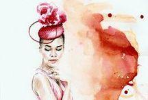 MY ILLUSTRATIONS. / Fashion illustrations by Aleksandra Stanglewicz http://aleksandrastanglewicz.com/