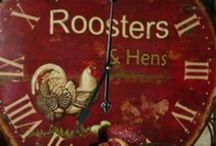 ROOSTERS & HENS / Love My Roosters & Hens! / by Val Simich
