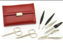 Womens Manicure Sets / Stylish Ladies Nail Sets In Sleek Leather Cases To Please Any Manicure Taste. Choose A Perfect Gift Every Woman Will Love And Enjoy For Years.